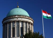 Basílica en Esztergom (Hungría) Imagenes de archivo