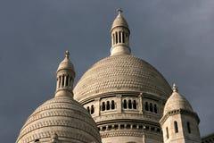 Basílica en París Foto de archivo