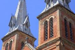 Basílica en Saigon Imagen de archivo libre de regalías
