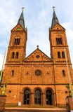 Basílica en Seligenstadt, Alemania Imágenes de archivo libres de regalías