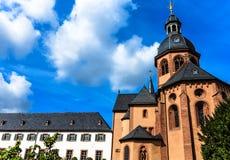 Basílica en Seligenstadt, Alemania Fotos de archivo libres de regalías