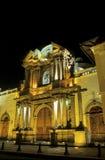 Basílica Equador imagens de stock