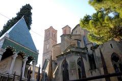 Basílica fúnebre del monumento y del St. Francisco de Glossator Fotografía de archivo