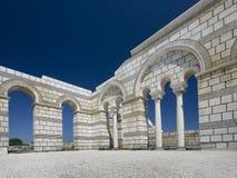 Basílica grande em Pliska. Fotos de Stock Royalty Free