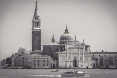 Basílica histórica San Giorgio Maggiore en Venecia Foto de archivo libre de regalías