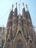 The Basílica i Temple Expiatori de la Sagrada Família stock image
