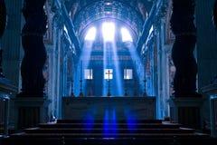 Basílica (igreja) di San Pietro em Vaticano Imagens de Stock