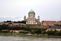 Basílica II de Esztergom Foto de Stock Royalty Free