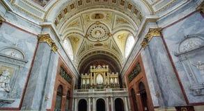 Basílica interna foto de stock royalty free