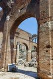 Basílica Julia en Roman Forum en la ciudad de Roma fotografía de archivo libre de regalías