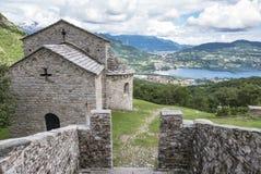 Basílica medieval Imagen de archivo libre de regalías