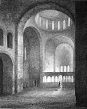Basílica na Abkhásia Fotos de Stock Royalty Free