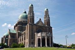 Basílica nacional de Koekelberg, Bruxelas Foto de Stock Royalty Free