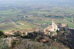 Basílica papal de St Francis de Assisi Fotografía de archivo