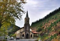 Basílica perto de Bilbao Imagem de Stock Royalty Free