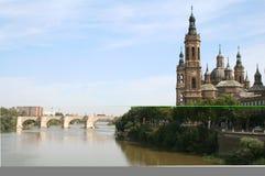 A basílica Pilar Imagem de Stock