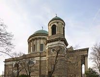 Basílica primacial de la catedral de la Virgen María y del St Adalbert - de Esztergom hungría Fotografía de archivo
