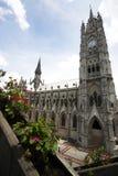 Basílica Quito Ecuador Fotografía de archivo