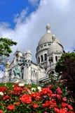 Basílica Sacre Coeur Imágenes de archivo libres de regalías
