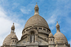 Basílica Sacre Couer Fotos de Stock Royalty Free