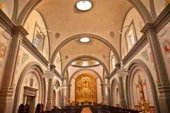 Basílica San Juan Capistrano California de la misión Foto de archivo libre de regalías