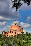 Basílica San Luca, Bolonha, Itália imagens de stock royalty free