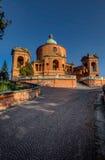 Basílica San Luca, Bolonia, Italia foto de archivo