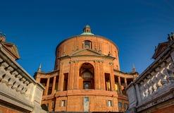Basílica San Luca, Bolonia, Italia imagenes de archivo