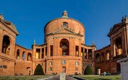 Basílica San Luca, Bolonia, Italia imagen de archivo libre de regalías