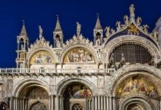 Basílica San Marco en Venecia Fotografía de archivo