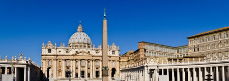 Basílica San Pedro Foto de archivo libre de regalías