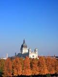 Basílica Santa María en Minneapolis Imágenes de archivo libres de regalías