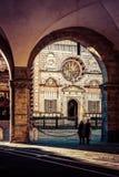 Basílica Santa Maria Maggiore - Bérgamo Fotografía de archivo libre de regalías