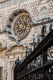 Basílica Santa Maria Maggiore - Bérgamo Imágenes de archivo libres de regalías