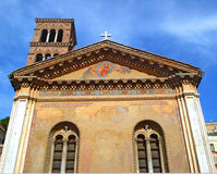 Basílica Santa-Pudentsiana Imagem de Stock Royalty Free