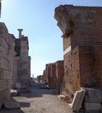Basílica St John en Selcuk Turkey Imagenes de archivo