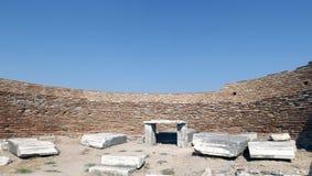 Basílica St John en Selcuk Turkey Imagen de archivo