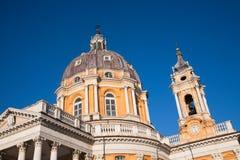 Basílica Superga Foto de archivo libre de regalías