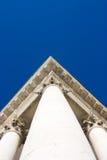 Basílica Superga - cubra la columna de la esquina, corta Imagen de archivo libre de regalías