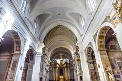 Basílica Trinita Dei Monti Spanish Steps Rome Italy foto de archivo