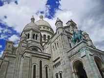 """Basílica ur de Paris - de Sacré-CÅ do """" Fotografia de Stock"""