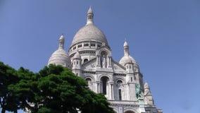 """Basílica ur de Sacré-CÅ do """"no monte de Montmartre em Paris filme"""