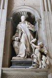 Basílica - Vaticano, Itália fotografia de stock royalty free