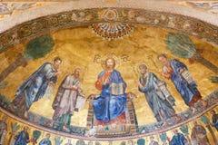 Basílica - Vaticano, Itália fotografia de stock