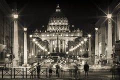 Basílico de St Peter em Roma Fotografia de Stock Royalty Free