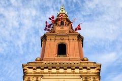 Bas éventuel de la tour - Copenhague image stock