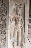 Bas-ανακούφιση σε Angkor Wat Στοκ εικόνες με δικαίωμα ελεύθερης χρήσης