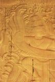 Bas-ανακούφιση τοίχων, ναός Angkor Wat Στοκ Φωτογραφίες