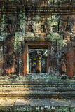 Bas-ανακούφιση Angkor Wat, Khmer ναός σύνθετος, Ασία Το Siem συγκεντρώνει, ασβέστιο Στοκ Φωτογραφίες