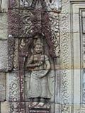 Bas-ανακούφιση Apsara στο ναό σύνθετο Banteay Kdei Καμπότζη Στοκ Εικόνες